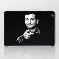 bill murray iPad Cases featuring Bill Murray Ghostbuster Edition by Spyck