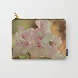 Pink Rhdodendron Carry-All Pouch