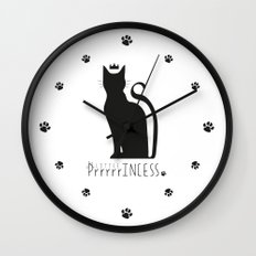 LITTLE PrrrrrINCESS Wall Clock