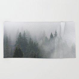 Long Days Ahead - Nature Photography Beach Towel