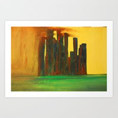 This City, too, will be Taken Art Print