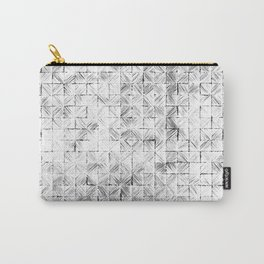 Ink Stitch: White Howlite Carry-All Pouch