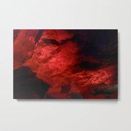 Dante grotto, Kungur Ice Cave, Russia Metal Print