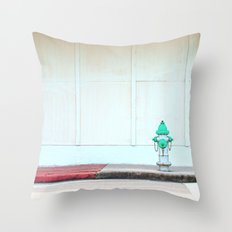 #STILL LIFE MIAMI by Jay Hops Throw Pillow