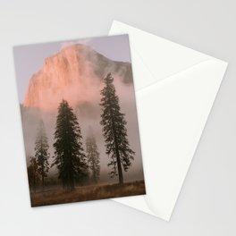 Yosemite Sunset Stationery Cards