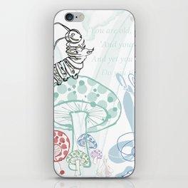 The Contradicting Caterpillar iPhone Skin