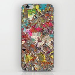 Abstract Acrylic Palette Knife painting iPhone Skin