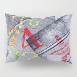 Denim collage Pillow Sham