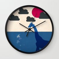 africa Wall Clocks featuring Africa by Mehdi Elkorchi