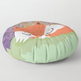 Little fox Floor Pillow