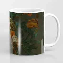 """Coenraet Roepel """"Still Life with Flowers"""" Coffee Mug"""