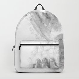 ZEN PLACES (left side) Backpack