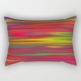 Astratto multicolore Rectangular Pillow