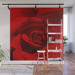 Red Rose | Be Mine Valentine | Love Wall Mural