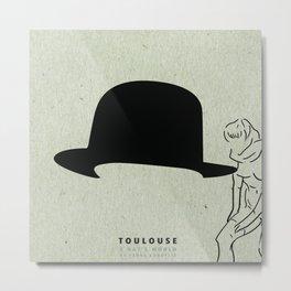 A Hat's World [Toulouse] Metal Print