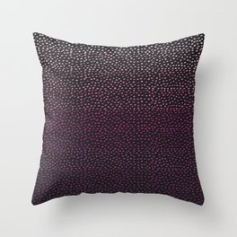 Ombre Dots Throw Pillow