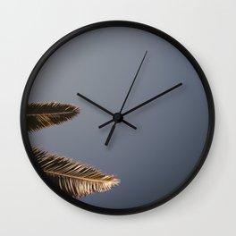 Palmtrees Wall Clock