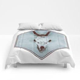 The haunted deer skull Comforters
