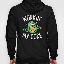 Workin' My Core Hoody