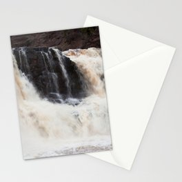 Falls with Iron Content Stationery Cards