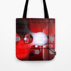 reflected blob Tote Bag