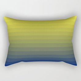 Gas Cloud Gradient Rectangular Pillow
