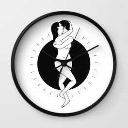 Imaginary Love - Semblance Wall Clock