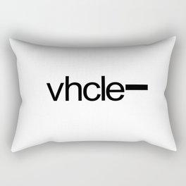 Vhcle Magazine Logo Rectangular Pillow