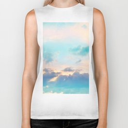 Unicorn Pastel Clouds #4 #decor #art #society6 Biker Tank