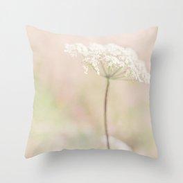 Pretty Cowslip Throw Pillow
