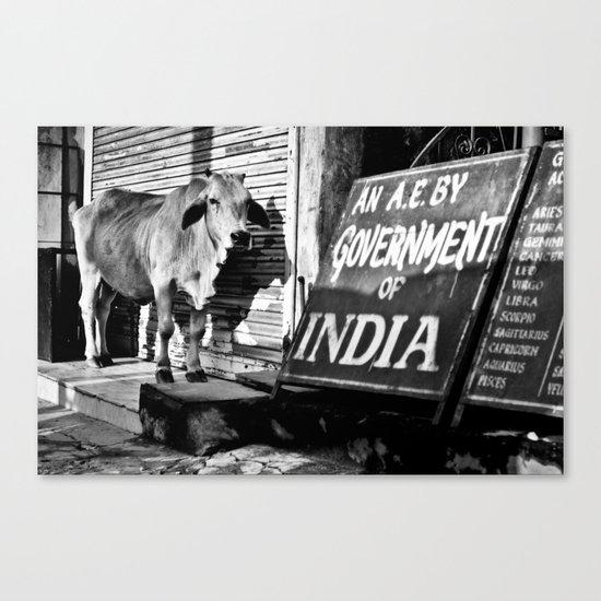 Indian gov. Canvas Print