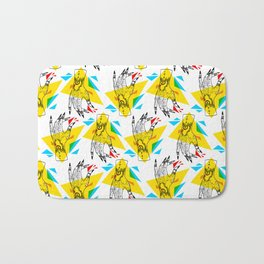 Primary Dogs II - Crunch Time Bath Mat