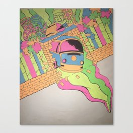 Totally Out of This World  Canvas Print