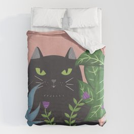 Jungle Cat Duvet Cover