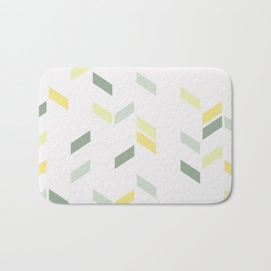 Geometric Confetti (Tropical Party) Bath Mat