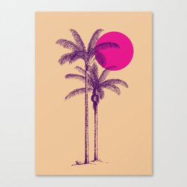 palm dream Canvas Print