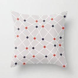 Chemistry Class Doodles Throw Pillow