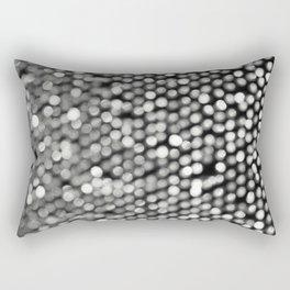 BOKEH BLACK & WHITE Rectangular Pillow
