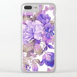Fall in Love Clear iPhone Case