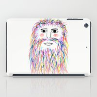 wizard iPad Cases featuring Wizard by Simbo