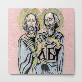 Sts Cyril and Methodius Metal Print