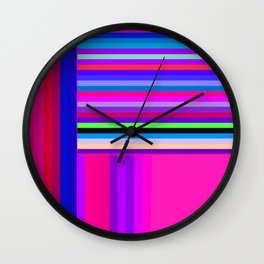 Re-Created  Parquet 12 by Robert S. Lee Wall Clock