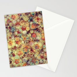 Dots on Flowers Stationery Cards