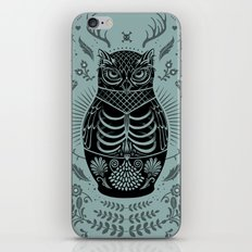 Owl Nesting Doll (Matryoshka) iPhone & iPod Skin