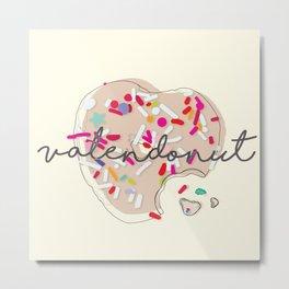 ValenDonut Metal Print
