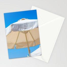 Beach Umbrella Stationery Cards