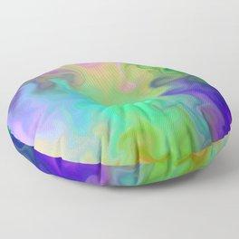 Twirl in Colour Floor Pillow