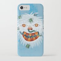 yeti iPhone & iPod Cases featuring Yeti by Santiago Uceda