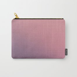 Vintage Pink and Purple Ombre Carry-All Pouch