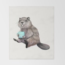 Dam Fine Coffee Throw Blanket